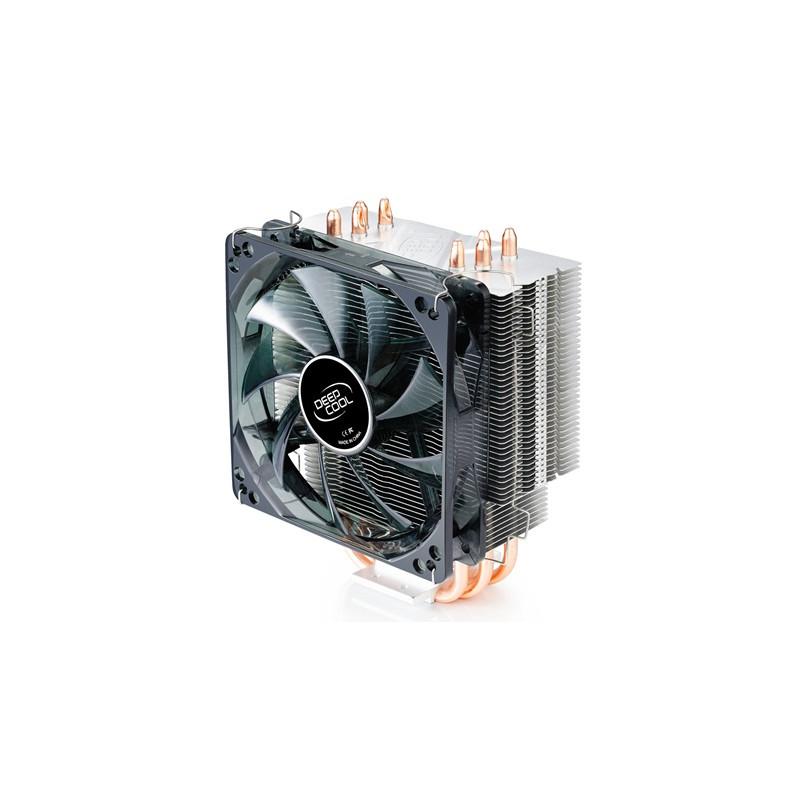 """Deepcool """"Gammaxx 400"""" universal cooler, 4 heatpipes, Intel Socket LGA 2011/1155/ 775, 130 W TDP and AMD Socket FM1/AM3+/AM3/AM2"""