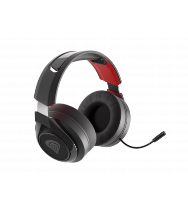 Genesis Gaming Headset Selen 400 Built-in microphone, Red/Black, Headband/On-Ear
