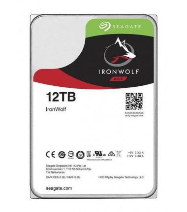 "Seagate IronWolf 7200 RPM, 3.5 "", 12000 GB, Hard drive, 6 Gbit/s, SATA, 256 MB"
