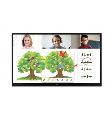 "LG 55TR3BG-B 55 "", Landscape, 16/7, Touchscreen, 178 °, 8 ms, 178 °, 3840 x 2160 pixels, 350 cd/m²"