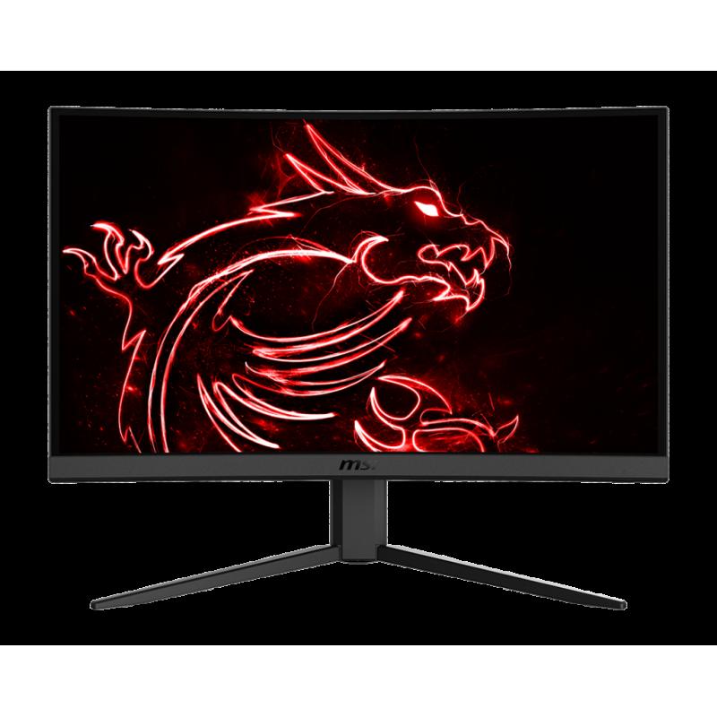 "MSI Gaming Monitor Optix G24C4 23.6 "", VA, FHD, 1920 x 1080, 16:9, 1 ms, 250 cd/m², HDMI ports quantity 2"