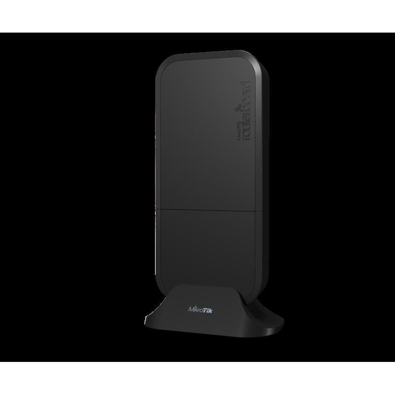 MikroTik RBwAPG-5HacD2HnD-BE wAP ac  with RouterOS L4 license, black enclosure, International version (EU)
