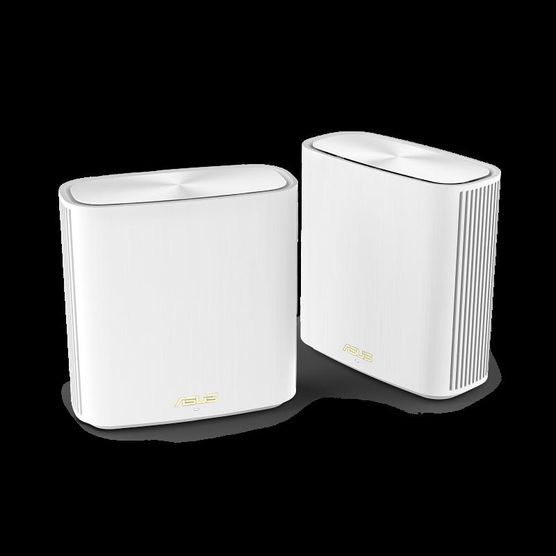 Asus Router ZenWiFi XD6 (W-2-PK) 802.11ax, 10/100/1000 Mbit/s, Ethernet LAN (RJ-45) ports 3, Antenna type internal antenna x 6