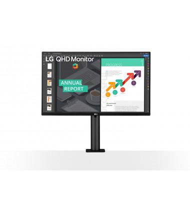 "LG Monitor 27QN880-B 27 "", IPS, QHD, 2560 x 1440, 16:9, 5 ms, 350 cd/m², Black"