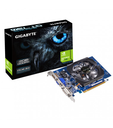 Gigabyte GV-N730D5-2GI NVIDIA, 2 GB, GeForce GT 730, GDDR5-SDRAM, PCI Express 2.0, Cooling type Active, HDMI ports quantity 1, M