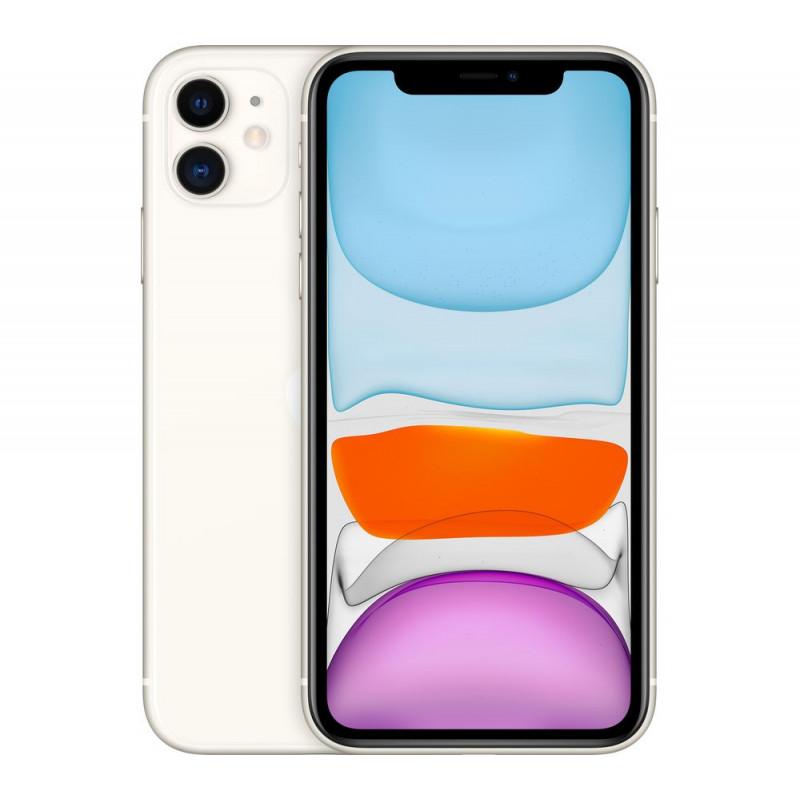 "Apple iPhone 11 White, 6.1 "", IPS LCD, 828 x 1792 pixels, Hexa-core, Internal RAM 4 GB, 128 GB, Single SIM, Nano-SIM and eSIM, 3"