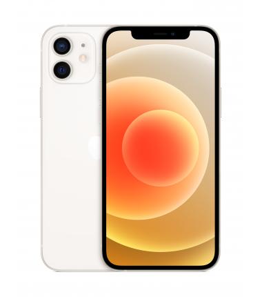 "Apple iPhone 12 White, 6.1 "", XDR OLED, 2532 x 1170 pixels, Apple, A14 Bionic, Internal RAM 4 GB, 128 GB, Single SIM, Nano-SIM a"