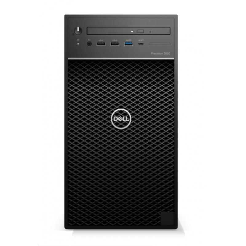 Dell Tower  3650  Desktop, SFF, Intel Core i7, i7-11700, Internal memory 8 GB, DDR4 UDIMM non-ECC, SSD 256 GB, Nvidia Quadro P62