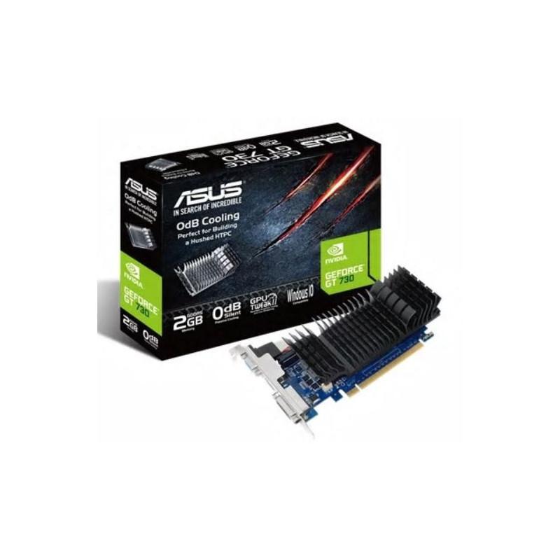 Asus GF GT730-SL-2GD5-BRK NVIDIA, 2 GB, GeForce GT 730, GDDR5, Memory clock speed 5010 MHz, PCI Express 2.0, HDMI ports quantity