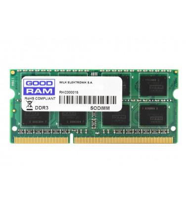 GOODRAM GR1333S364L9S/4G GOODRAM DDR3 4GB 1333MHz CL9 SODIMM 1.5V (512x8)
