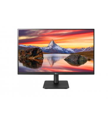 "LG 24MP400-B 23.8 "", IPS, FHD, 1920 x 1080 pixels, 16:9, 5 ms, 250 cd/m², Black, Headphone Out, 75 Hz, HDMI ports quantity 1"