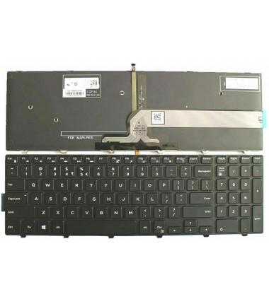 Dell 51CHY 051CHY NSK-LR0BW 1D 490.00H07.0A1D originali US klaviatūra su pašvietimu