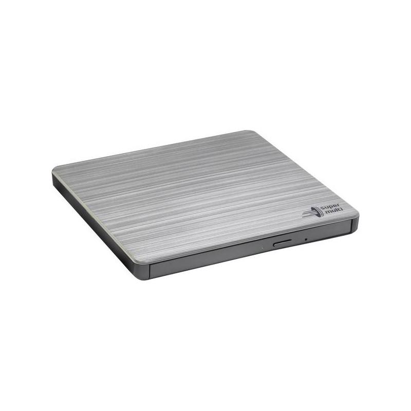 H.L Data Storage Ultra Slim Portable DVD-Writer GP60NS60 Interface USB 2.0, DVD±R/RW, CD read speed 24 x, CD write speed 24 x, S