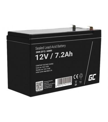 GREEN CELL ups baterija AGM 12V 7.2AH