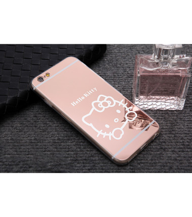 Veidrodinis Hello Kitty dėklas Apple iPhone 6