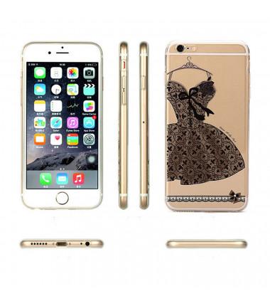 Dėklas tamsi suknelė iPhone 6