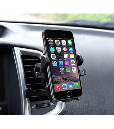 Daugiafunkcinis automobilinis telefono laikiklis