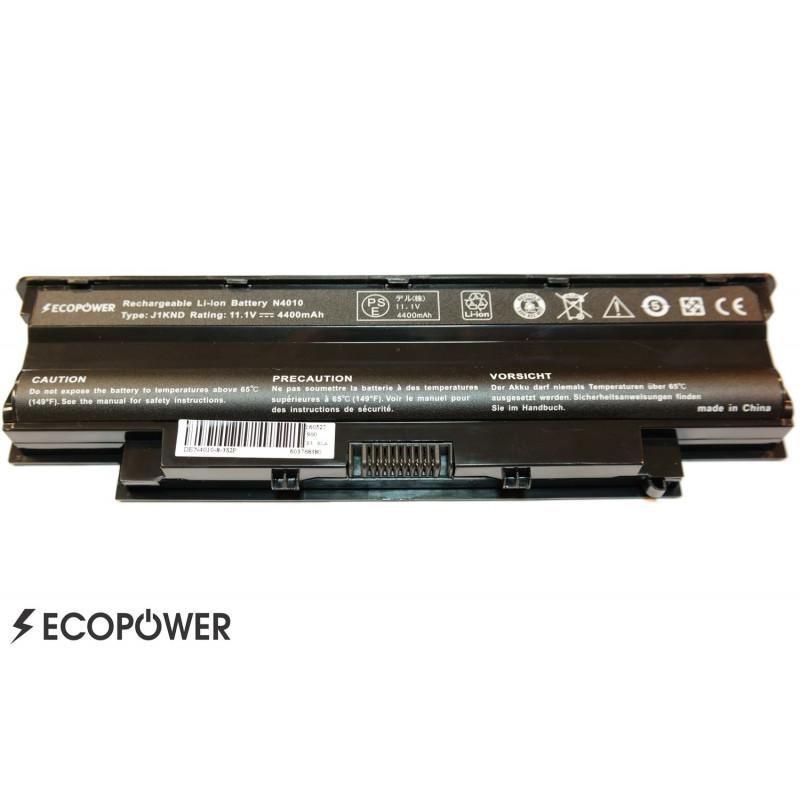 Dell J1KND 5010 n5010 n5110 EcoPower 6 celių 4400mah baterija