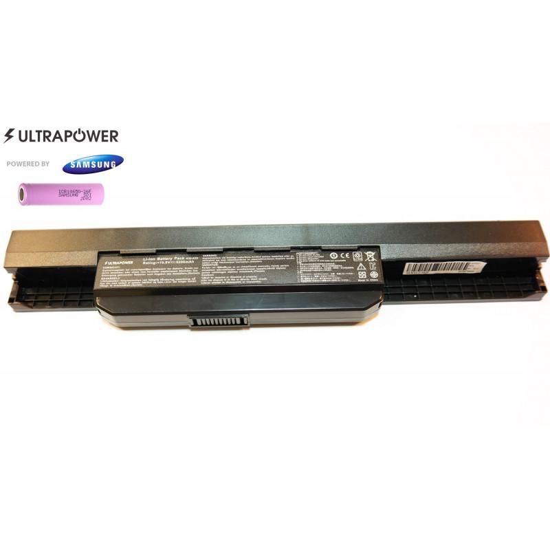 Asus A32-K53 UltraPower 6 celių 5200mah baterija