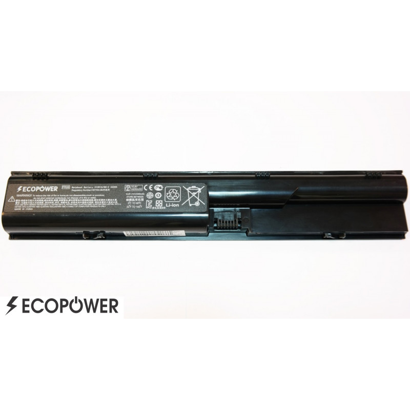 Kompiuterio baterija Hp PR06 633805-001 4530s 4540s 4730s 6470b EcoPower 6 celių 4400mah