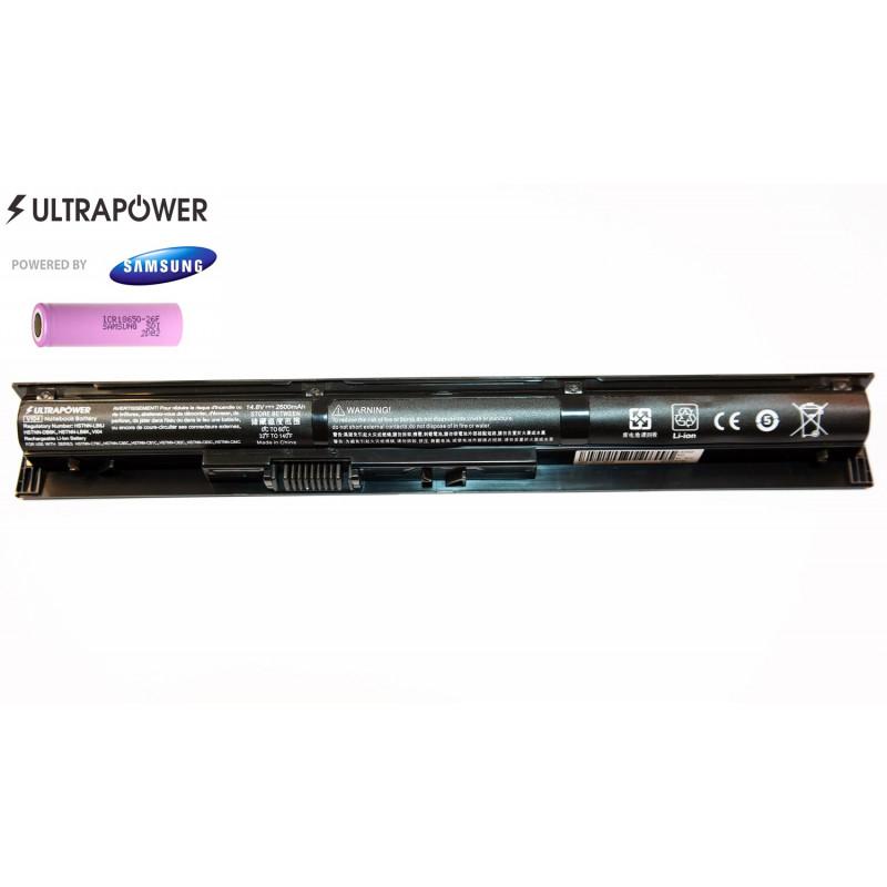 HP VI04 hstnn-lb6I UltraPower 4 celių 2600mah baterija
