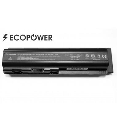 HP EV06 HSTNN-IB79 HSTNN-Q34C HSTNN-C51C HSTNN-C52C DV6 EcoPower 9 celių 6600mAh baterija
