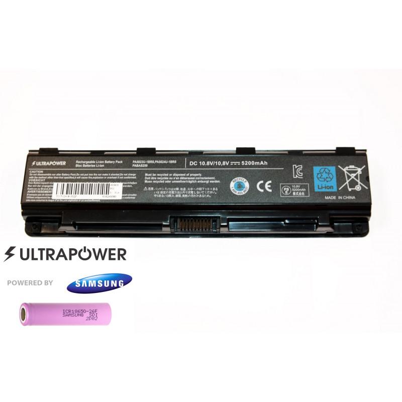 Toshiba PA5024u-1brs UltraPower 6 celių 5200mAh baterija