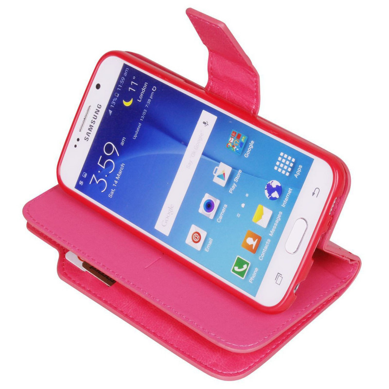 Rožinis dėklas Samsung galaxy s7 edge