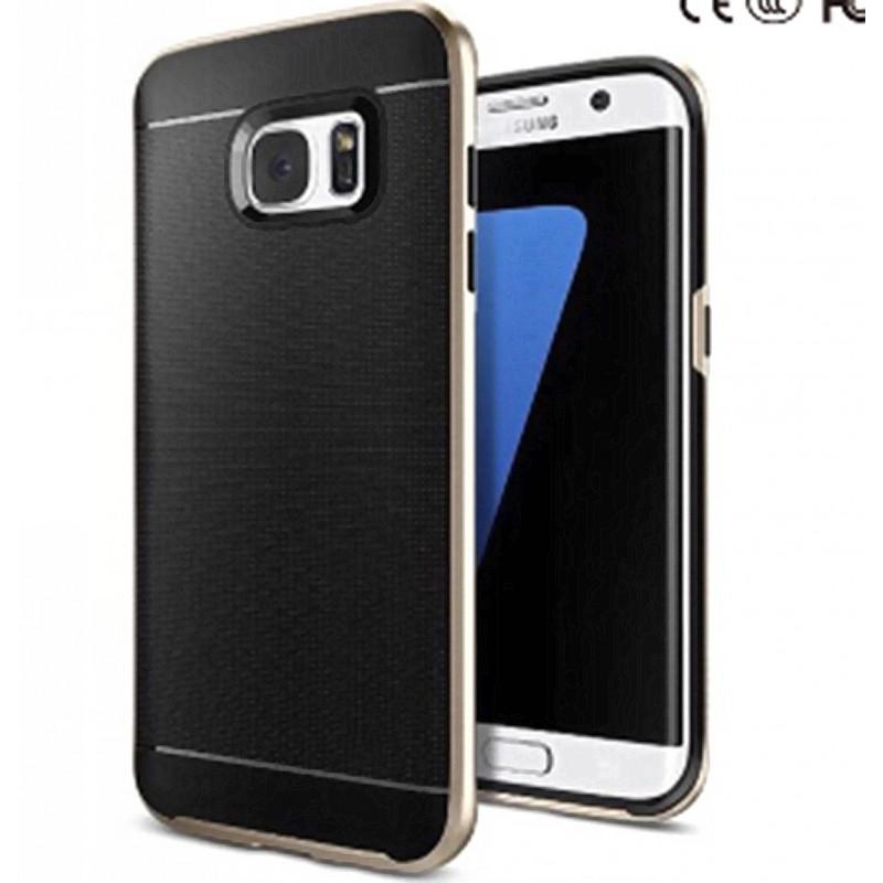 Juodas dėklas Samsung galaxy s7 edge