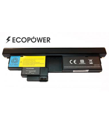 Lenovo 42t4564 42t4565 x200 tablet pc EcoPower 8 celių 4400mah baterija