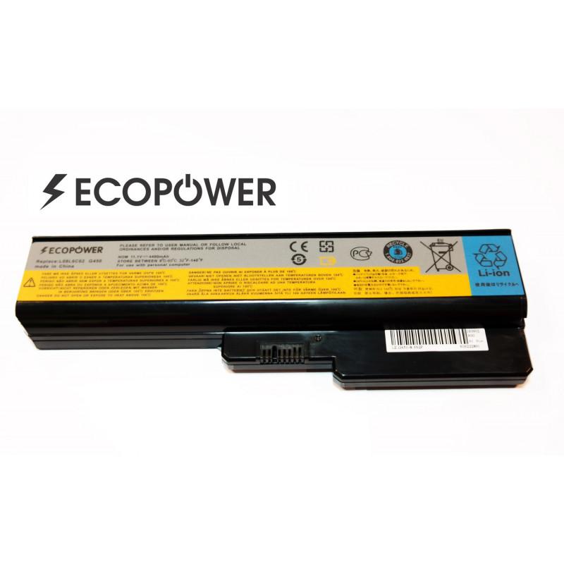 Lenovo L06L6Y02 3000 N500 G530 EcoPower 6 celių 4400mah baterija