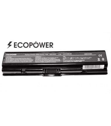 Toshiba PA3534U-1BRS PA3533-1BRS PA3533-1BAS Satellite a200 a300 l300 l550 l555 EcoPower 6 celių 4400mah baterija