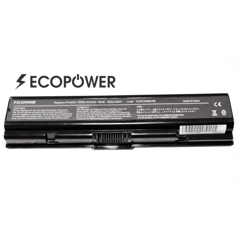 Kompiuterio baterija Toshiba PA3534U-1BRS PA3533-1BRS PA3533-1BAS Satellite a200 a300 l300 l550 l555 EcoPower 6 celių 4400mah