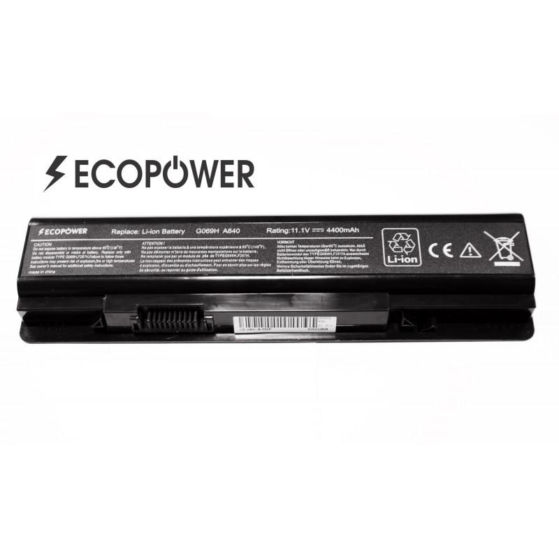 Dell F287H Vostro 1014 1015 A840 A860 EcoPower 6 celių 4400mah baterija