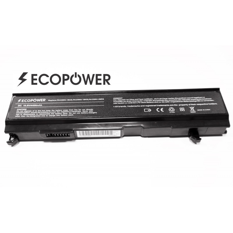 Toshiba PA3399U-1BRS EcoPower 6 celių 4400mah baterija