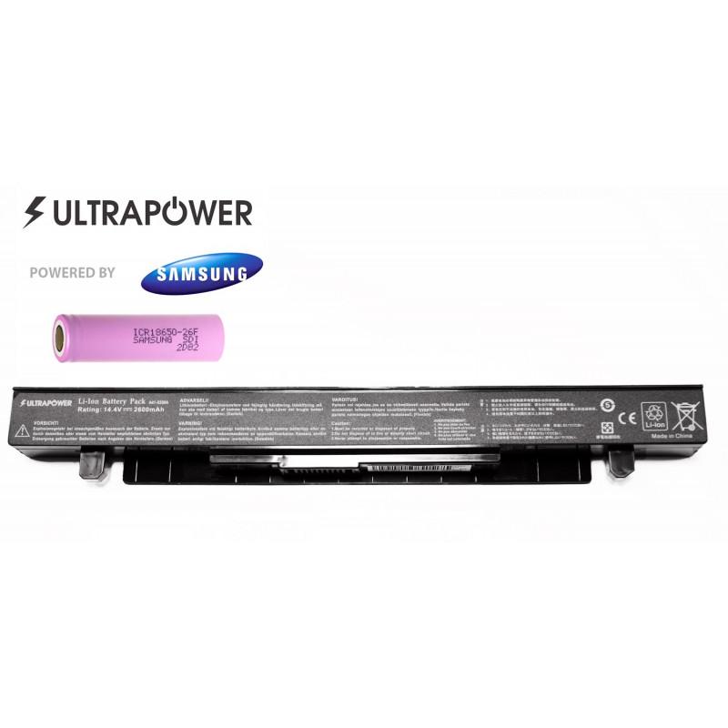 Asus a41-x550a UltraPower 4 celių 2600mah baterija