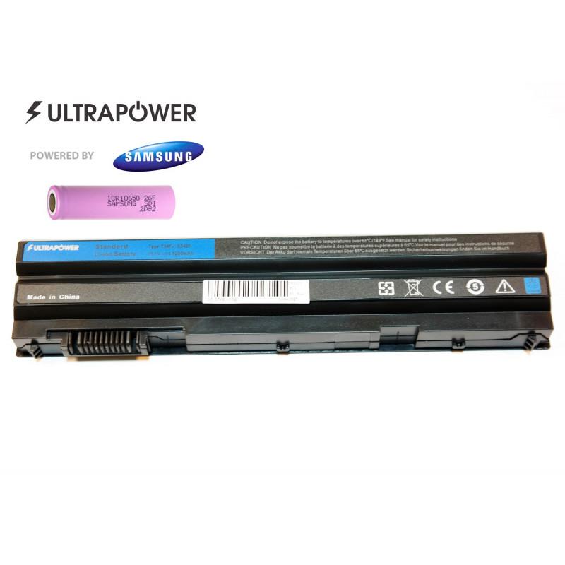 Dell T54FJ latitude E5420 E5520 E6420 E6520 UltraPower 6 celių 5200mAh baterija