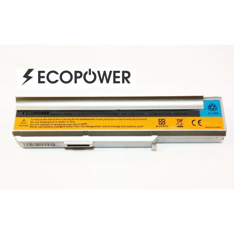 Lenovo 3000 n100 EcoPower 6 celių 4400mah baterija