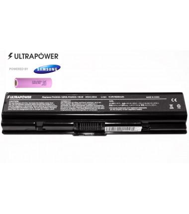 Toshiba PA3534U-1BRS Satellite a200 a300 l300 l550 l555 UltraPower 6 celių 5200mah baterija