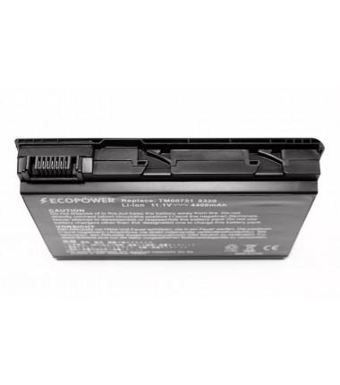 Acer TM00741 EcoPower 6 celių 4400mah baterija