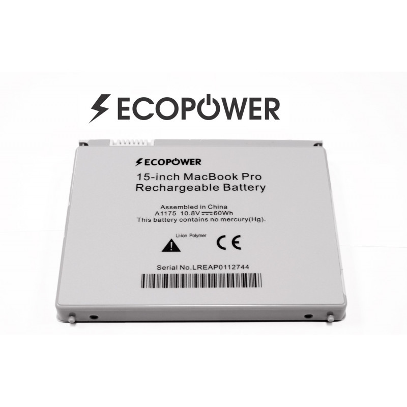 "Apple A1175 A1226 A1211 A1260 A1150 macbook pro 15"" EcoPower baterija"