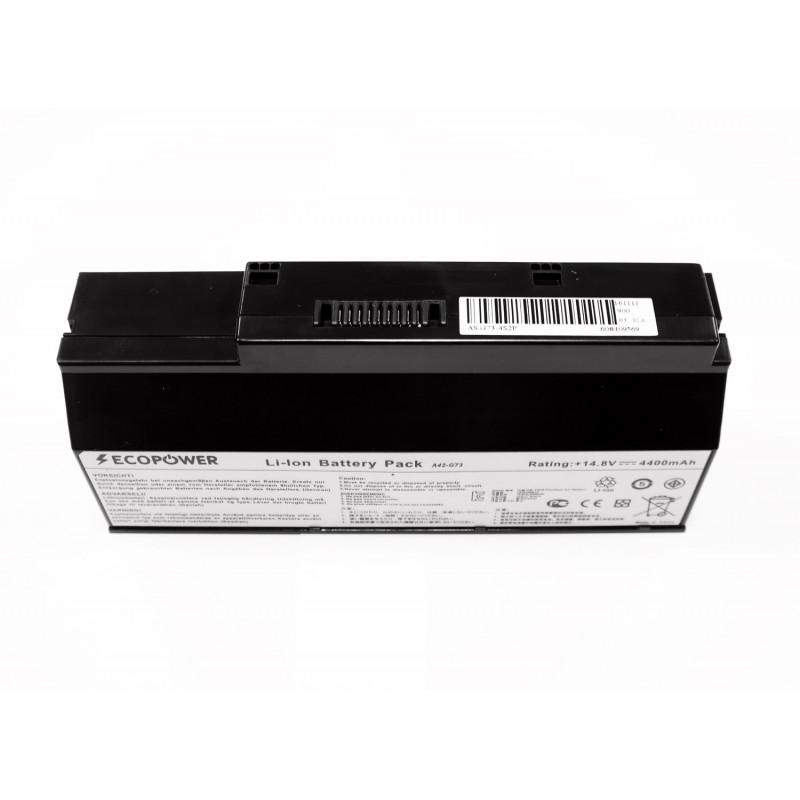 Asus A42-G73 EcoPower 8 celių 4400mah baterija