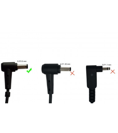 Asus W15-045N2B ADP-45BW B X555L X555LA X555LB 19v 2.1a (2.37a) 5.5*2.5 EcoPower įkroviklis 40w