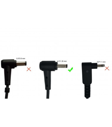 Asus X553 X553M X553MA Q302LA 19v 2.37a 4.0*1.35 EcoPower įkroviklis 45w