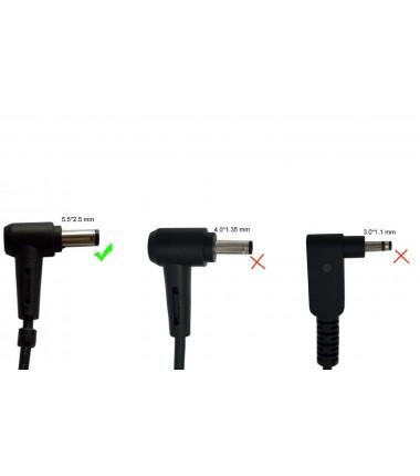 Asus X555L X555LA X555LB 19v 2.37a 5.5*2.5 EcoPower įkroviklis 45w