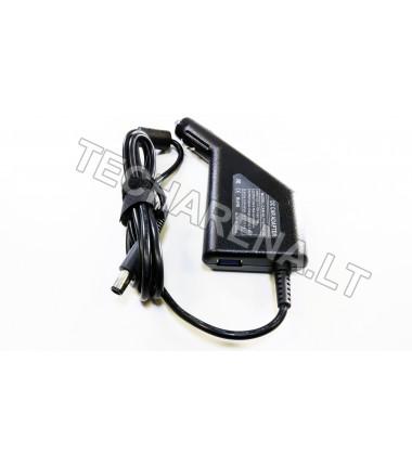 Hp 19v 4.74a 7.4*5.0 (su adata) automobilinis įkroviklis 90w + USB