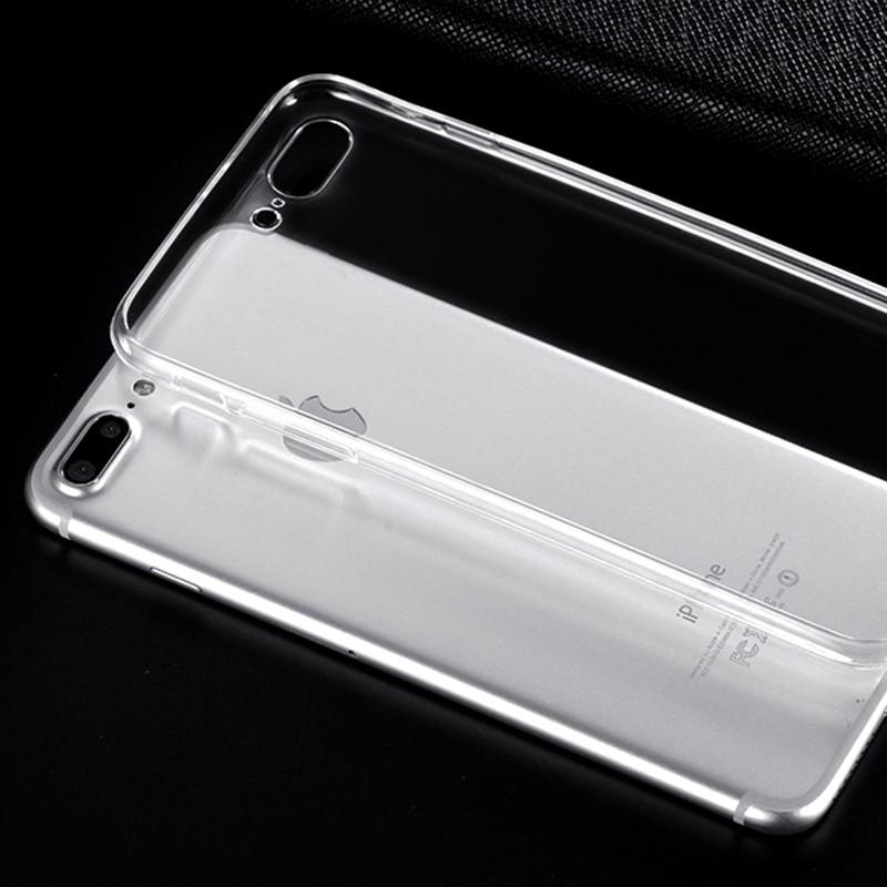 Permatomas silikoninis dėklas iPhone 7