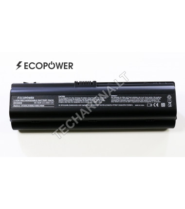 Hp HSTNN-DB31 HSTNN-iB31 pavilion dv2000 dv6000 EcoPower  9 celių 6600mah baterija