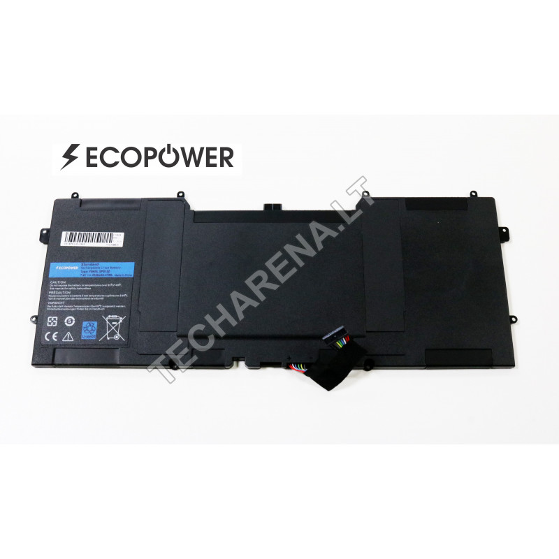 Dell 0Y9N00 Y9N00 XPS 13 13-L321X 13-L322X EcoPower 6300mah baterija