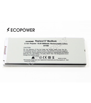 Apple A1185 EcoPower balta baterija